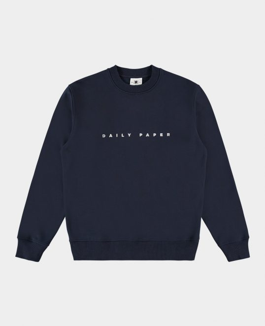 Daily paper sweater bl/wit