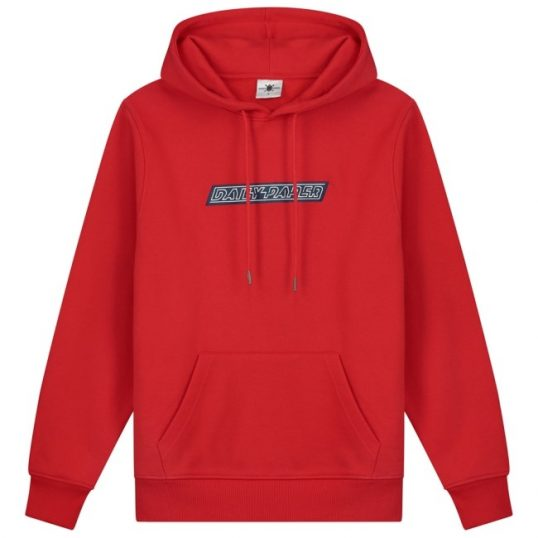 Daily paper hoodie copatch rood/bl