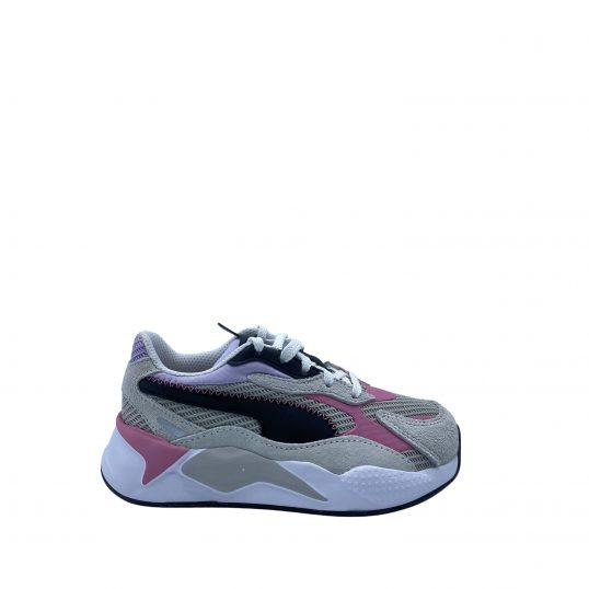 POuma RS-X grijs/roze